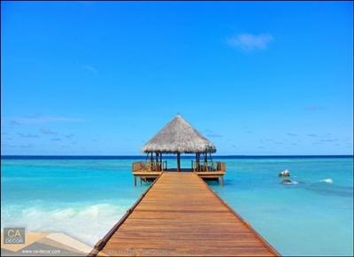 ศาลาชายหาด หมู่เกาะมัลดีฟ