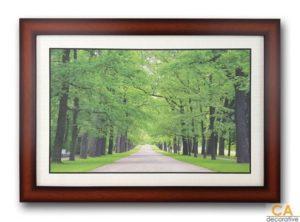 กรอบรูป รูปภาพสวยๆ สำหรับแต่งบ้าน กรอบรูปติดผนัง รูปติดผนัง กรอบไม้ รูปภาพ กรอบรูปไม้ ภาพติดผนังพร้อมสลิงแขวน รูปภาพสวนสาธารณะในพระราชวัง แคตเทอรีน ประเทศรัฐเซีย