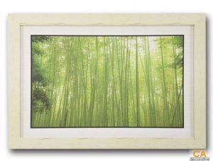 กรอบรูป รูปภาพสวยๆ สำหรับแต่งบ้าน กรอบรูปติดผนัง รูปติดผนัง กรอบไม้ รูปภาพ กรอบรูปไม้ ภาพติดผนังพร้อมสลิงแขวน รูปภาพป่าไผ่ พิมพ์วัสดุไวนิล หลังกระดาษ พร้อมกรอบไม้