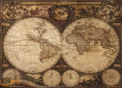 ภาพ แผนที่โลก