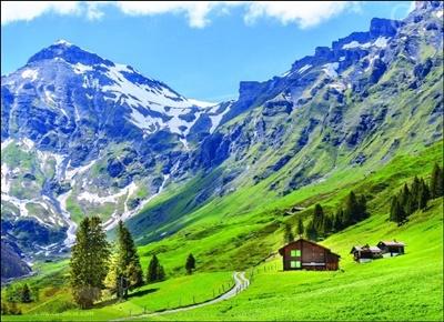 หมู่บ้านในหุบเขา