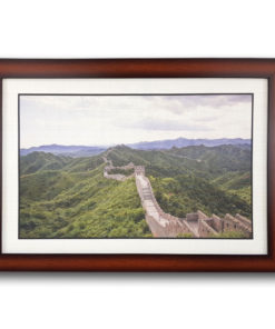กรอบรูปลายไม้ ภาพกำแพงเมืองจีน