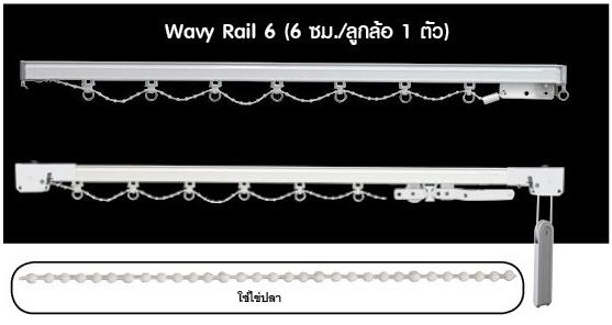 2.รุ่น Wavy Rail6