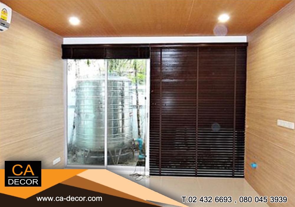 มู่ลี่ไม้รามิน wooden blinds10
