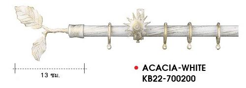 Rod Curtain_European Style_ACACIA-WHITE-KB22-700200