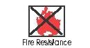 Vertical fire resistant blinds